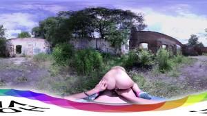 HoliVR 360VR _ Roadrunner Sex Teen fucked outdoor