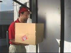 Delivery boy gets lucky - Pt. 1/5