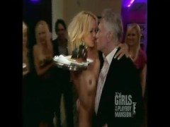 Pamela Anderson Naked at Hugh Hefner's Party