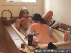 Kinky secretary pee and pussy licking part2of2
