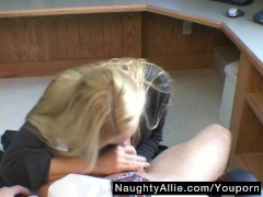 ALLIE VISITS JAKE'S OFFICE FOR A QUICKIE – WIFE
