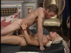 Ass fucking with cumshot ending in her mouth