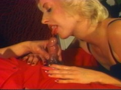 Blonde is so horny she does one cock after another