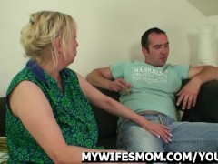 Mother in law lures him into sex