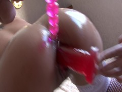 Super hot Latina chick loves toys - Latin-Hot