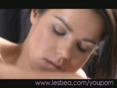 Lesbea Teens share intimate orgasms