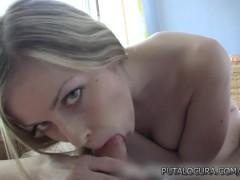 PutaLocura Torbe fucks a cute blonde amateur