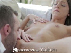 Foxi Di begs her man to play with her tight little asshole - Passion-HD