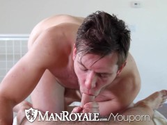 ManRoyale - Hunter Page Bends Over and Gets Fucked by John Foster