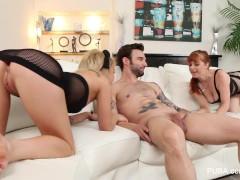 Kota Skye's hot threesome