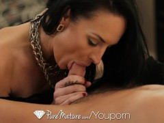PureMature - Sexy Milf has her pierced pussy pounded by the pool boy