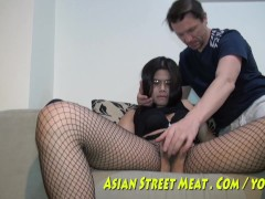 Demure Anal Angel Delivers Asian Rectal Pleasure