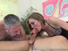 Mona Wales Turns Her Husband Into Perfect Cock Sucker