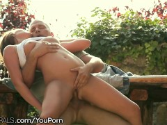 21Naturals Angel proded to Orgasm