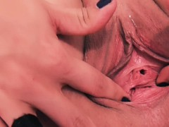 Peehole Insertion and Gaping. Pussy S...