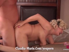 Claudia Marie Giant Fake Tits Cut Out!