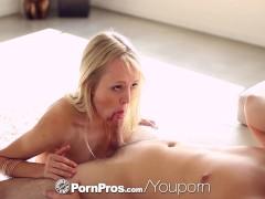 PornPros.com - Skinny blonde Sierra Nevadah fucked by her boyfriend