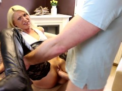 naughty-hotties.net - sweet blonde quickie - cum drink from condom plus massive facial.mp4