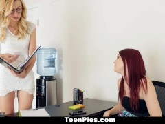 Dyked- Nerdy Tutor hardcore fucks hot red head