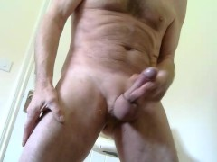 My Rampant Shaved Cock Shooting Lots Of Cum.mp4