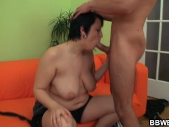 Guy picks up hot fatty to bang her