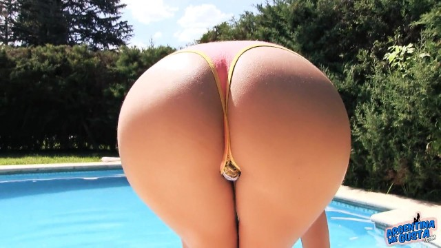 Most Amazing Teen Ass At The Pool Amazing Blonde Free