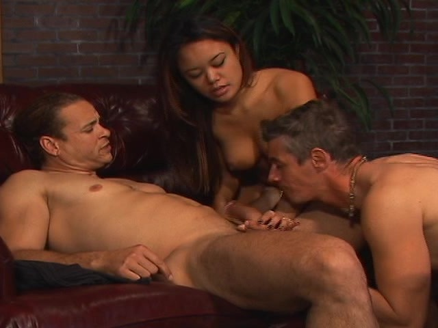 Asian Hottie With Two Bisexual Guys - Free Porn Videos - YouPorn
