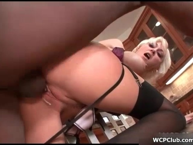 Black busty cock big blonde