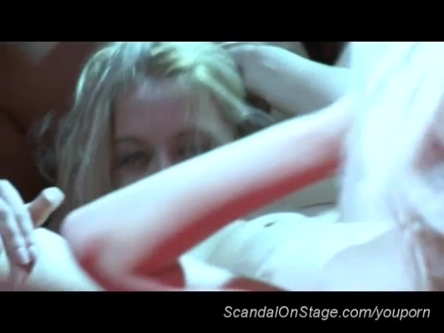 image Scandal on stage lesbian strippers licking wet pussy