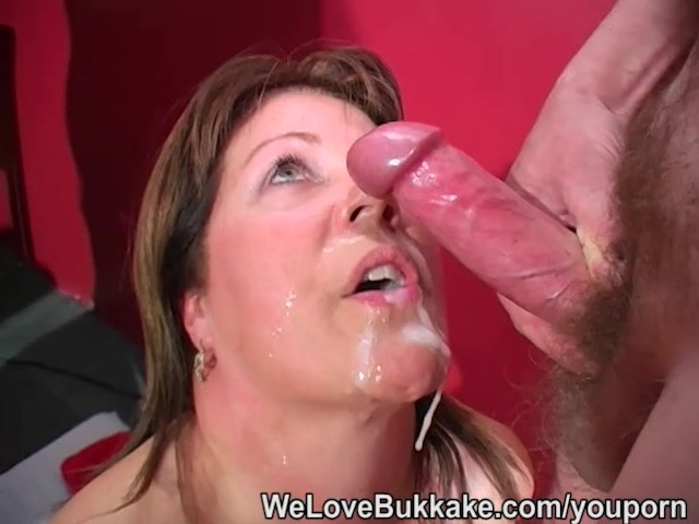 mature cum shots