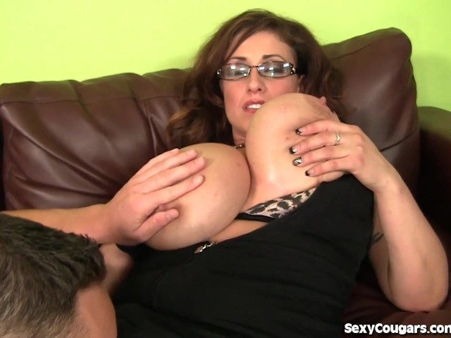 Milf with younger boy on real homemade 2
