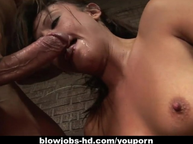 Cum on her face outdoors