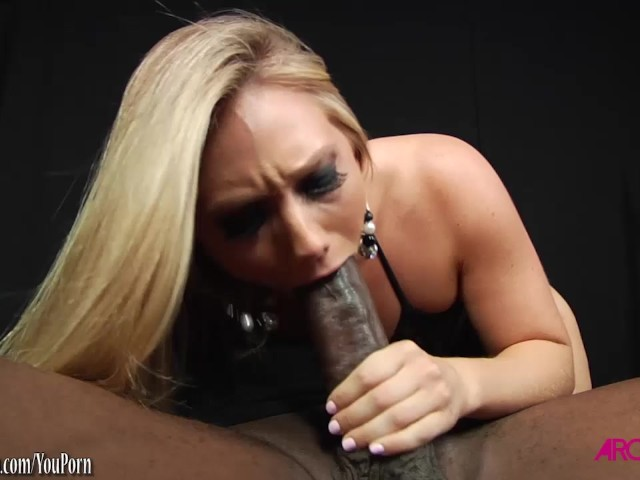 Sucking Black Dick Outside