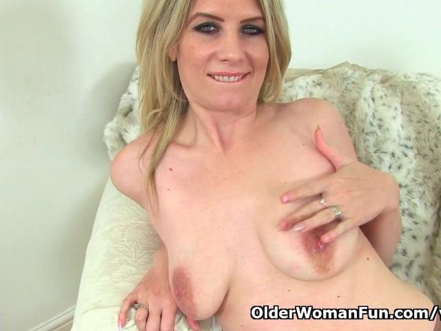 Uk milf ashleigh teases her leaking nipples 2