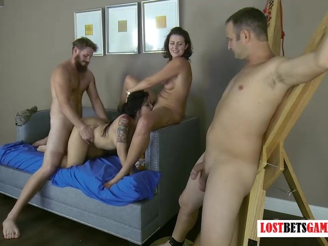 Husband Watches Wife Creampie