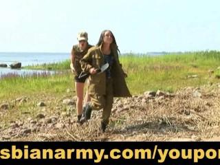 military-lesbian-training