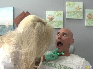 Distracted Dentist Drilled...