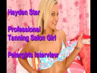 Hayden star petergirls audition...