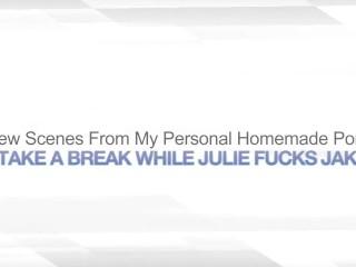 I TAKE A BREAK WHILE JULIE FUCKS JAKE – SWAPPING