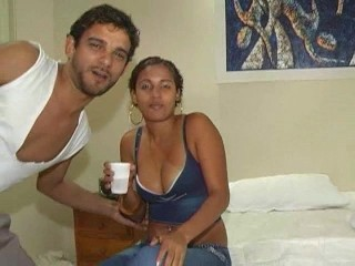 Caught on Tape..Brazilian Couple Freaks...