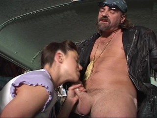 He loves her ass as much as her pigtails