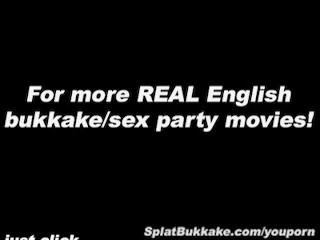English Pornstar Barbie Styles Bukkake...