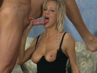 Hot Blonde Distracted From Her Chess Game Sucks And Fucks A Mean Cock...
