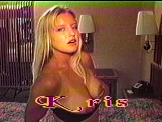 Kris needs dicks in both front and back...