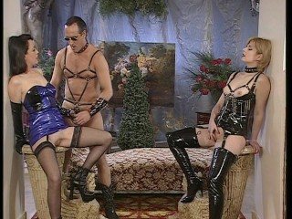 Older man watched kinky girls get fucked