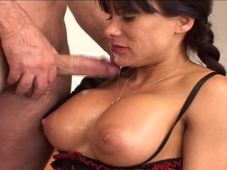 a-mouth-full-of-cum-fall-onto-her-big-tits