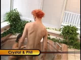 Crystal phil have some jacuzzi...