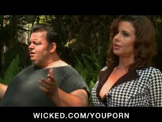Mature cheating wife milf pornstar fucks o