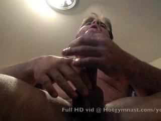 Heavy cumshot with...