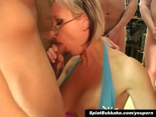 british-blonde-milf-bukkake-party